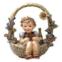 """Hummel Number 618 """"A Basket of Gifts"""""""